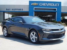 New 2017 Nightfall Gray Metallic Chevrolet Camaro 2dr Cpe 1LT For Sale in Plano, TX | 1G1FB1RX2H0108571