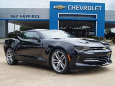 New 2017 Black Chevrolet Camaro 2dr Cpe 1LT For Sale in Plano, TX | 1G1FB1RX2H0117268