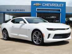 New 2017 Summit White Chevrolet Camaro 2dr Cpe 1LT For Sale in Plano, TX | 1G1FB1RX6H0124465