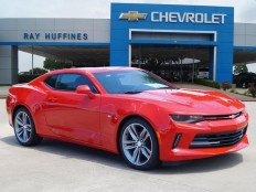 New 2017 Red Hot Chevrolet Camaro 2dr Cpe 1LT For Sale in Plano, TX | 1G1FB1RX2H0116119