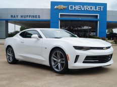 New 2017 Summit White Chevrolet Camaro 2dr Cpe 1LT For Sale in Plano, TX | 1G1FB1RX9H0116621