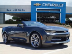 New 2017 Nightfall Gray Metallic Chevrolet Camaro 2dr Conv 1LT For Sale in Plano, TX | 1G1FB3DSXH0107854