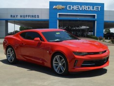 New 2017 Red Hot Chevrolet Camaro 2dr Cpe 2LT For Sale in Plano, TX | 1G1FD1RS5H0105758