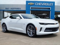 New 2017 Summit White Chevrolet Camaro 2dr Cpe 2LT For Sale in Plano, TX | 1G1FD1RS0H0129014
