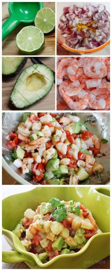 Zesty Lime Shrimp and Avocado Recipe | Buzz Inspired