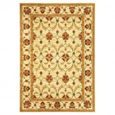 Kas Rugs State of Honor Ivory 7 ft. 10 in. x 9 ft. 10 in. Area Rug - LIF5471710X910 - The Home Depot