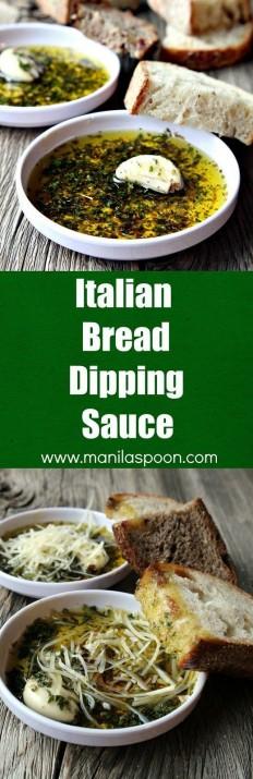 Italian Bread Dipping (Oil) Sauce Recipe | Buzz Inspired