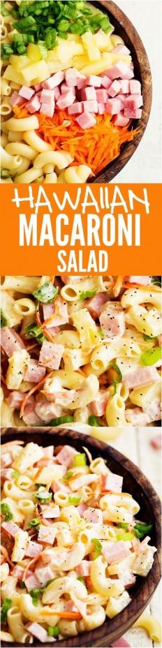 Hawaiian Macaroni Salad Recipe | Buzz Inspired