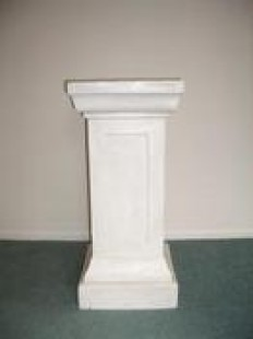 Plinth for hire, rent, or rental in Richmond , Tasman in Decorations, Exhibition & Props > Urns and Plinths — Hire Things
