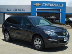 New 2017 Tungsten Metallic Chevrolet Traverse FWD LS For Sale in Plano, TX | 1GNKRFKD7HJ117296