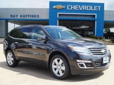 New 2017 Tungsten Metallic Chevrolet Traverse FWD 1LT For Sale in Plano, TX | 1GNKRGKD1HJ155564