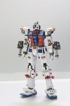GUNDAM GUY: MG 1/100 Full Armor Gundam Ver. Ka [Thunderbolt Ver.] - Customized Build w/ LED
