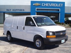 New 2016 Summit White Chevrolet Express Cargo Van 2500 Regular Wheelbase Rear-Wheel Drive For Sale in Plano, TX | 1GCWGAFF6G1124608