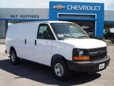 New 2016 Summit White Chevrolet Express Cargo Van 2500 Regular Wheelbase Rear-Wheel Drive For Sale in Plano, TX | 1GCWGAFF6G1231884