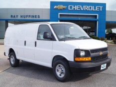 New 2016 Summit White Chevrolet Express Cargo Van 2500 Regular Wheelbase Rear-Wheel Drive For Sale in Plano, TX | 1GCWGAFF1G1201899