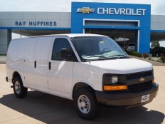 New 2016 Summit White Chevrolet Express Cargo Van 2500 Extended Wheelbase Rear-Wheel Drive For Sale in Plano, TX | 1GCWGBFF0G1308321