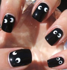 30+ Best Spooky-Scary Halloween Nail Art Design Ideas 2015 | EntertainmentMesh
