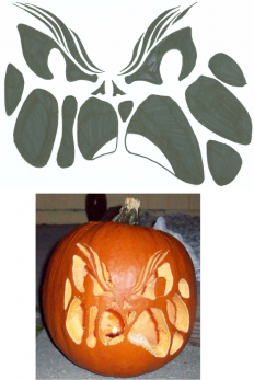 40+ Free Halloween Pumpkin Carving Patterns, Stencils For You | EntertainmentMesh