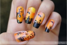 25+ Extremely Spooky Halloween Nail Art Ideas | EntertainmentMesh