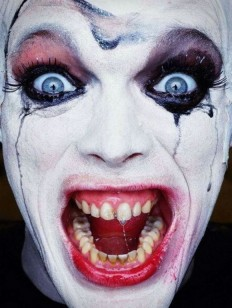 25 Evil and Scary Clown Pictures To Terrify Kids | EntertainmentMesh