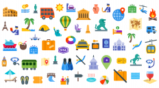 Free Download: 60+ travel icons by Icons8 | Webdesigner Depot
