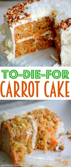 To-Die-For Carrot Cake Recipe | Buzz Inspired