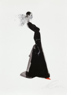 David Downton - Yves Saint Laurent 2006 - Fashion Illustration Gallery