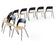 Fritz Hansen in Collaboration with Benjamin Hubert Launches the Pair Chair - InteriorZine