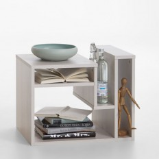 Fritz Side Table In Larch With Storage 25239 Furniture IN Fa