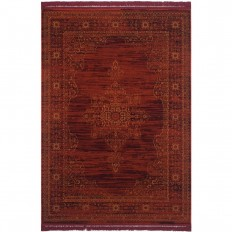 Safavieh Serenity Ruby/Gold 4 ft. x 6 ft. Area Rug-SER210B-4 - The Home Depot