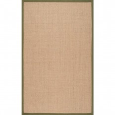 nuLOOM Orsay Sisal Green 8 ft. x 10 ft. Area Rug - ZHSS01G-8010 - The Home Depot