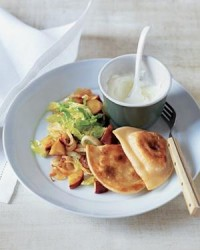 Potato Pierogi With Sautéed Cabbage and Apples | Real Simple Recipes