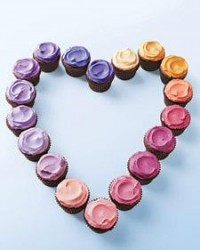 Mini Chocolate Cupcakes with Multicolored Frosting - Martha Stewart Recipes