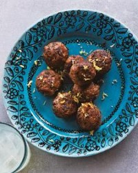 Meatballs with Ouzo and Mint - Martha Stewart Recipes