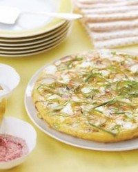 Potato, Scallion, and Goat Cheese Frittata - Martha Stewart Recipes