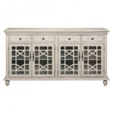 Ivory Four Drawer Media Credenza Coast To Coast Imports Corner Tv Cabinets Tv Stands & Ca