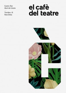 Cafe Theatre Identity – By Quim Marin Studio in Poster