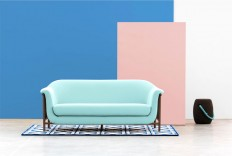 Sofa with Delicate Curves – Valentim by DAM - InteriorZine