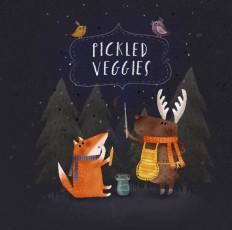 Pickled veggies on