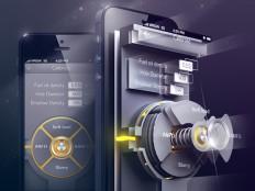 UI of engineering app on