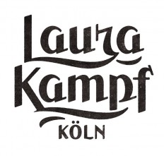 Laura Kampf by Simon Walker #type #typo #script #lettering #font #logo #brand #mark in Typography & Lettering
