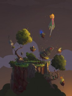 Magical Stone Collector by Ullbors | Whimsical | 2D | CGSociety