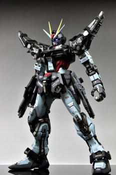 PG 1/60 Strike Noir Gundam customized build - Gundam Kits Collection News and Reviews