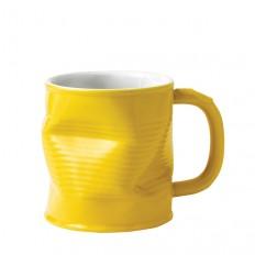 Squashed Tin Can Mug Yellow - Medium-love tiki