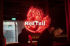 Red Tail Bar on