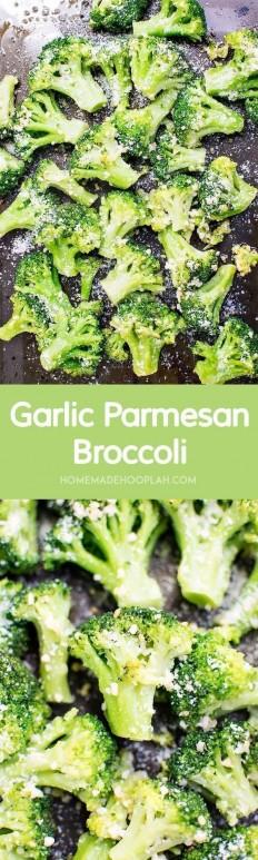 Garlic Parmesan Broccoli Recipe | Buzz Inspired