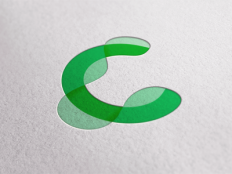 C. Development and production of renewable energy by Denis Znakar (Logo) - Dribbble