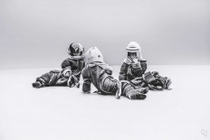 Blank Space: Black and White Astronaut Portraits by Robert Cybulski