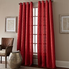 Manhattan Grommet Top Window Curtain Panel - www.BedBathandBeyond.com
