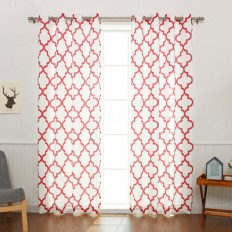 Best Home Fashion, Inc. Oxford Basketweave Curtain Panels & Reviews | Wayfair
